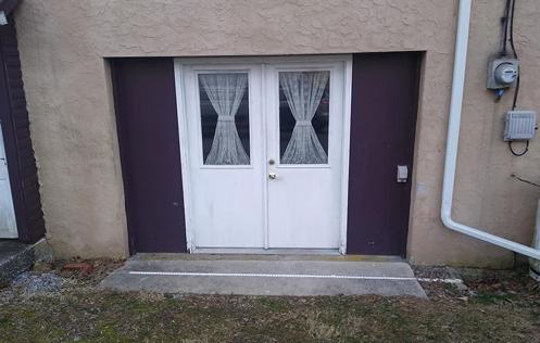 Conversion back to garage door before