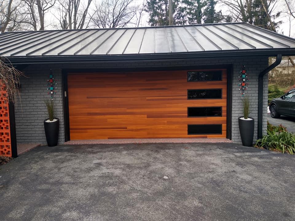 residential garage door replacement